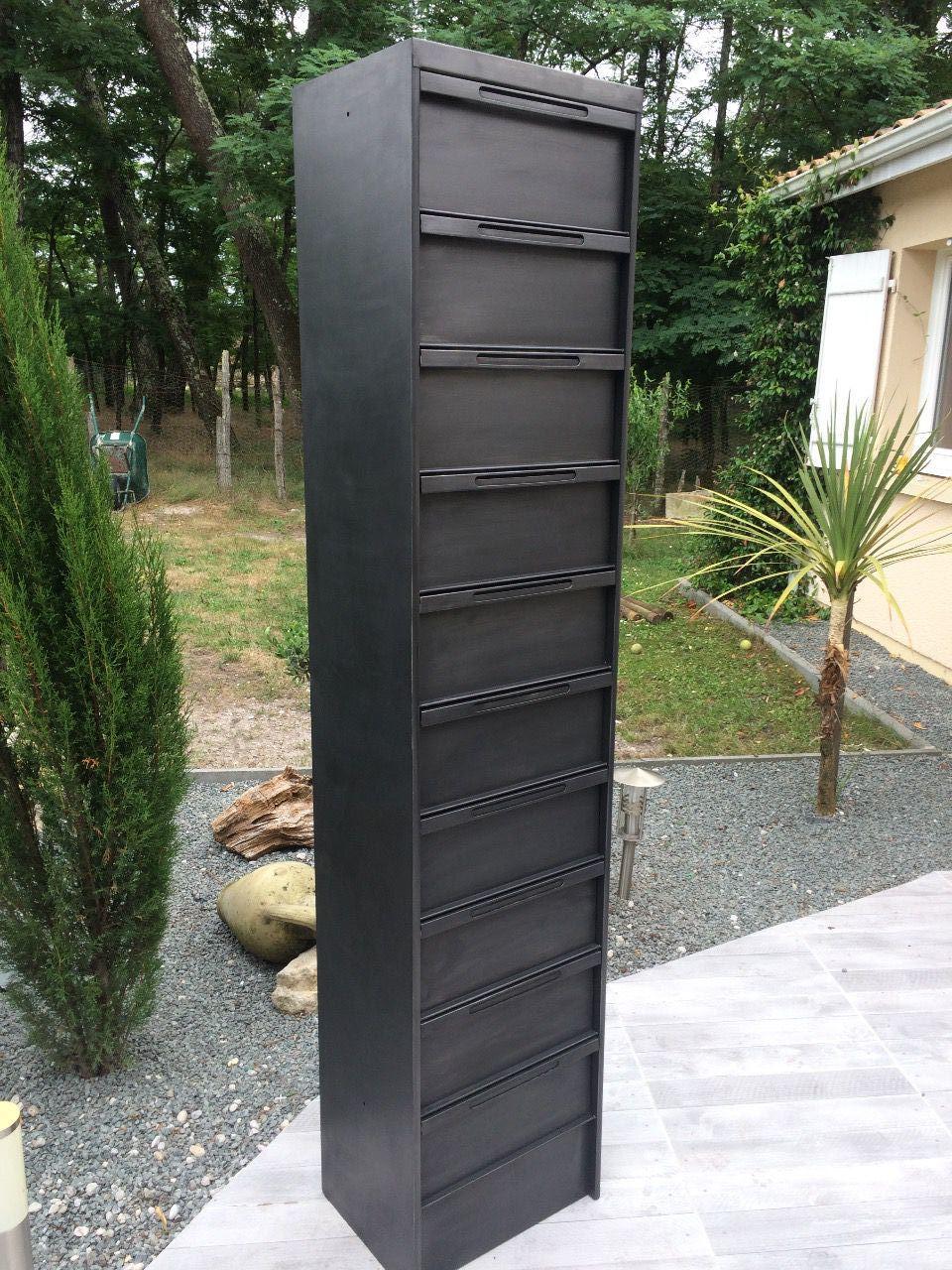 Meuble Metallique 10 Clapets Epdesign Fr